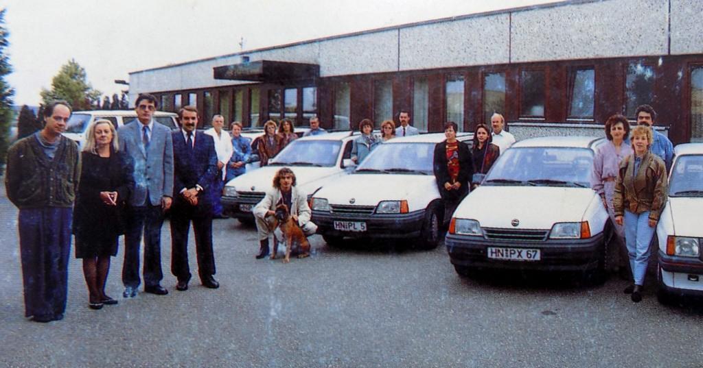 Planert Team 1991